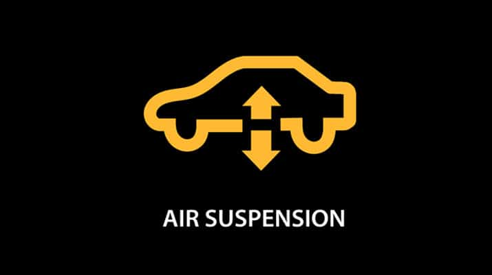 Jaguar Air Suspension System