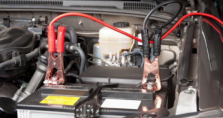 Charging Jaguar Battery