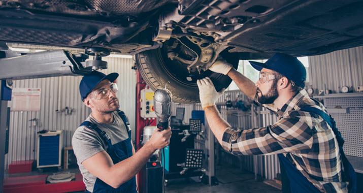 Volkswagen Broken Rear Spring Inspection