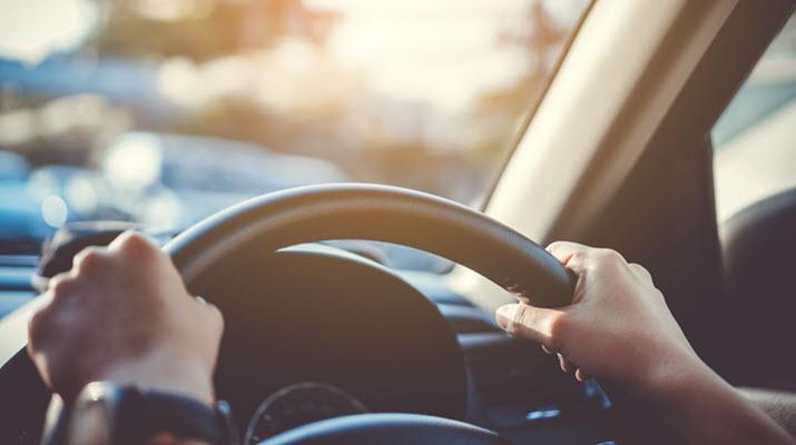 Volvo Off-centered Steering Wheel